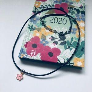 Pink flower 🌸 necklace